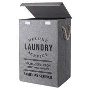 U Trip Laundry Basket with Lid, 85L Large Deluxe Laundry Baskets