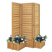 Fusion Planter Cedar Privacy Screen