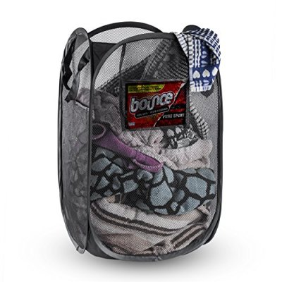 Mesh Pop-Up Foldable Laundry Hamper