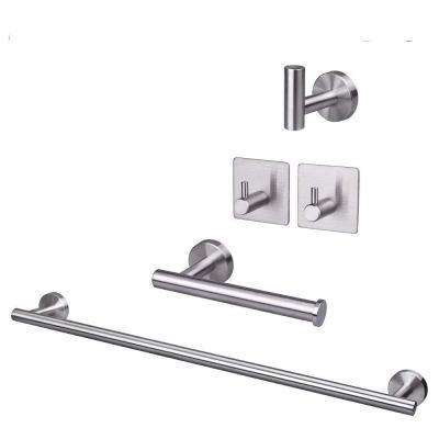 TocTen 5 Piece Bathroom Hardware Set Thicken Stainless Steel