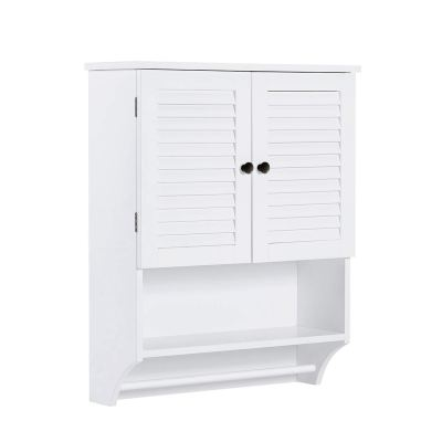 ChooChoo Bathroom Medicine Cabinet 2-Door Wall Cabinet