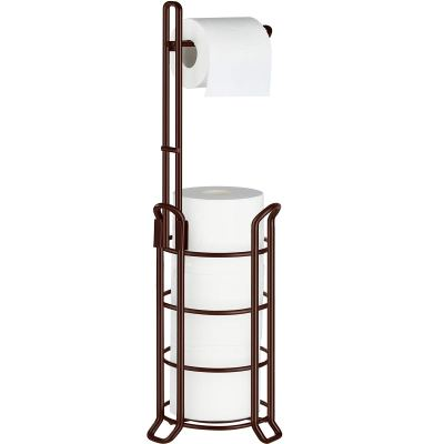 TomCare Toilet Paper Holder Toilet Paper Stand and Dispenser