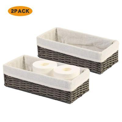 Storage Organizer Basket Bin Toilet Paper Basket