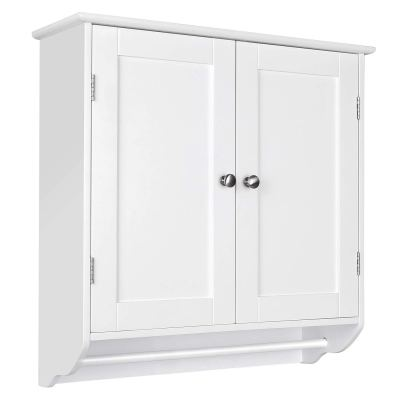 HOMFA Bathroom Wall Cabinet, Over The Toilet Space Saver