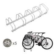LLY Houseware 5 Bicycle Floor Parking Adjustable Storage