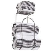 Organizer with Storage Shelf - for Bathroom Towels, Washcloths