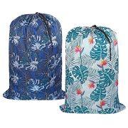 UniLiGis Washable Laundry Bag, Dirty Clothes Hamper Liner