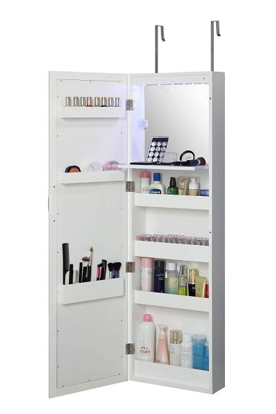 Abington Lane Over The Door Makeup Organizer - Beauty Armoire