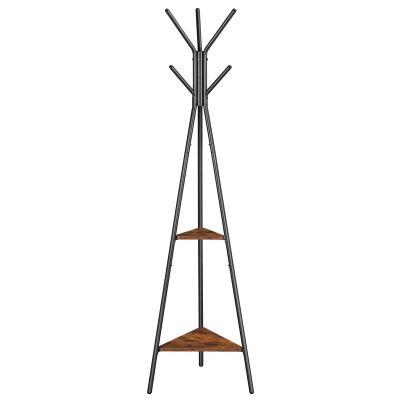 VASAGLE Coat Rack Stand, Coat Tree, Hall Tree Free Standing