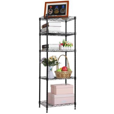 Metal Storage Rack Adjustable Shelves for Laundry