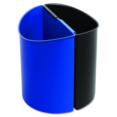 Safco Products Desk-Side Recycling Trash Can