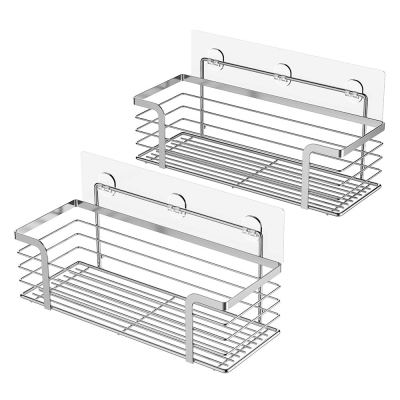 Caddy Basket Shelf for Shampoo Conditioner Adhesive Bathroom Storage