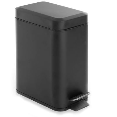 BINO Stainless Steel 1.3 Gallon / 5 Liter Rectangle Step Trash Can