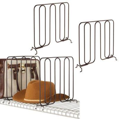 mDesign Versatile Modern Metal Wire Closet