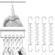 Hangers Magic Cloth Hanger Metal Closet Organizer