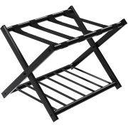 GOFLAME Folding Luggage Rack Metal Suitcase