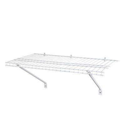 ClosetMaid, White Wire Shelf Kit