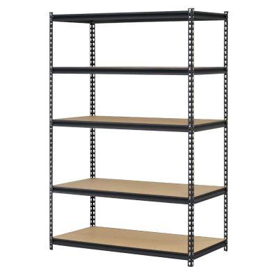 5-Shelf Steel Shelving Unit Storage Rack,Heavy Duty