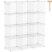 C&AHOME Wire Cube Storage Organizer