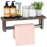 Towel Rack Bathroom Shelf Organizer