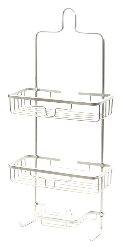Splash Home Aluminum Kohala Shower, Caddy Bathroom Hanging
