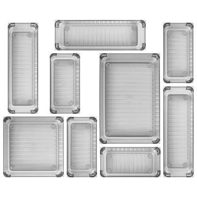 Kootek 9 Pcs Desk Drawer Organizer Trays 4-Size