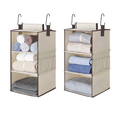 StorageWorks 6-Shelf Hanging Closet Organizers