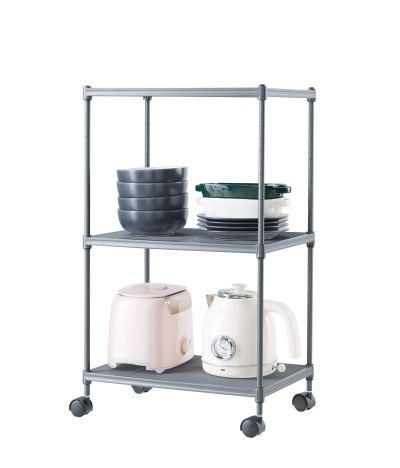 Ovicar 3-Tier Steel Wire Storage Shelves