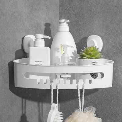 Wall Mounted Shower Shelf Bathroom Storage Basket