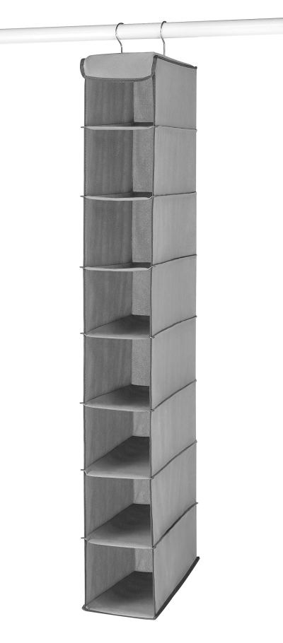 Whitmor Hanging Shoe Shelves - 8 Section