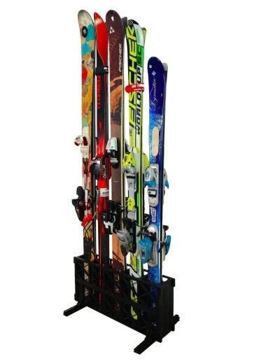 Ski Storage Rack Freestanding