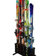 Ski Storage Rack Freestanding