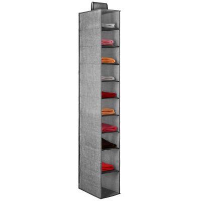 Criusia Hanging Closet Organizer,10 Shelves Closet