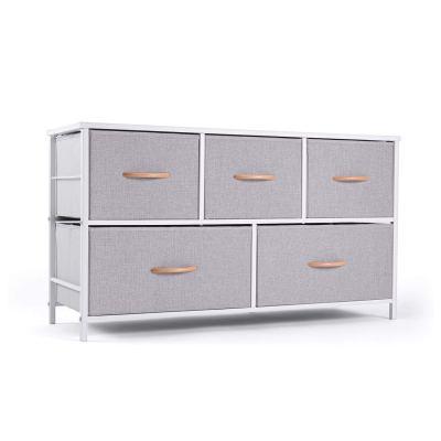 Dresser Organizer with 5 Drawers Fabric Storage