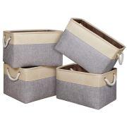 Univivi Rectangular Basket Closet Bins