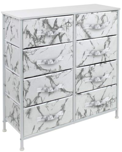 Sorbus Dresser with 8 Drawers - Furniture Storage Chest Tower