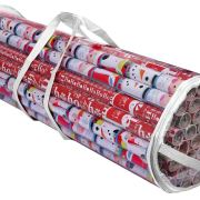 Gift Wrapping Paper Storage Organizer Bag