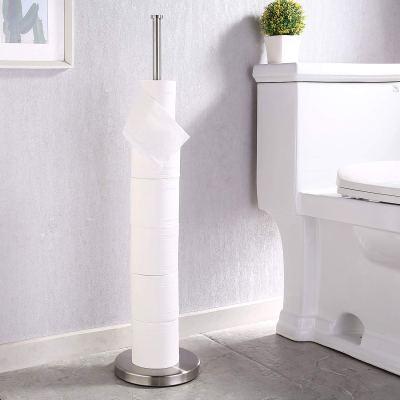 KES Free Standing Toilet Paper Holder Stand Modern Tissue Rolls Holder