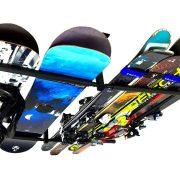 Ski and Snowboard Ceiling Storage Rack