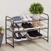 Stackable and Expandable Metal Wire Utility Rack Storage