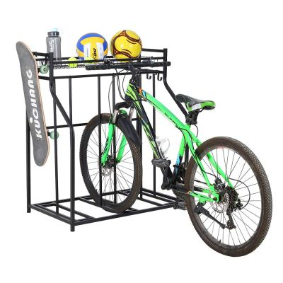 SNAIL 3 Bike Stand Rack with Storage for Garage Use
