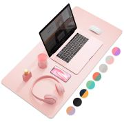 Dual-Sided Multifunctional Desk Pad, Waterproof Desk Blotter Protector