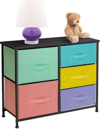 Sorbus Dresser with 5 Drawers - Furniture Storage
