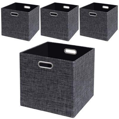 Foldable Closet Organizer Shelf Cabinet Bookcase Boxes