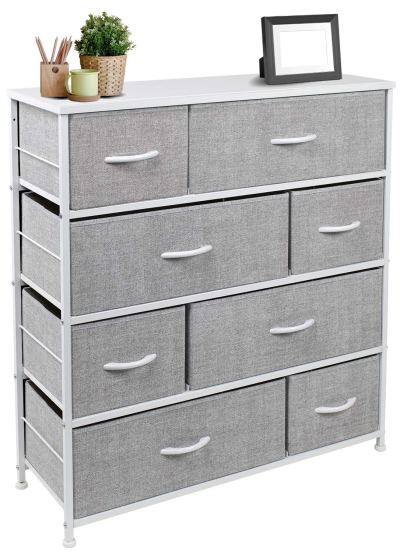 Sorbus Dresser with 8 Drawers - Furniture Storage