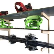 Snowboard Wall Rack Skis, Skateboards, Scooters, Ripsticks