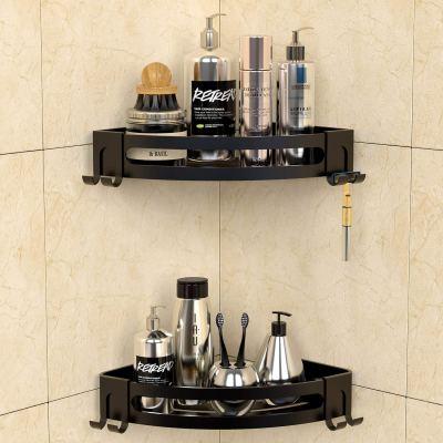 Bathroom Shelf Wall Mounted with Razor Holder