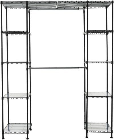 AmazonBasics Expandable Metal Hanging Storage Organizer