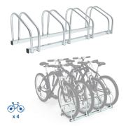 Todeco Bike Floor Rack Stand for 4 Bikes
