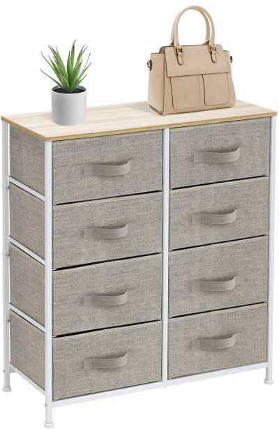Sorbus Dresser with 8 Drawers - Furniture Storage Chest